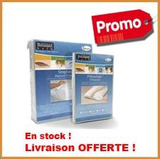 Pack housse anti punaise 2 personnes for Housse matelas anti punaise